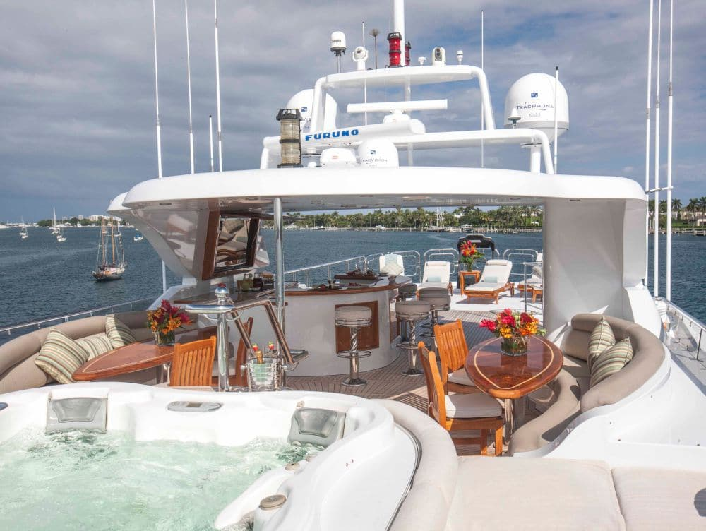 Excellence Yacht Upper Deck View
