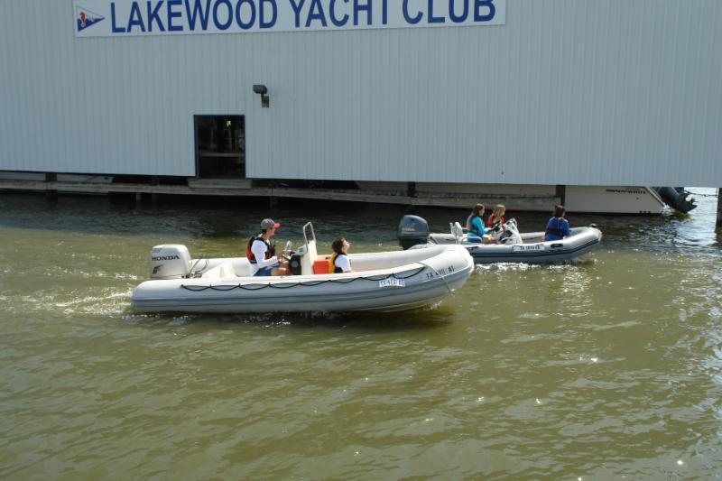 Powerboat Safety Course practical exam