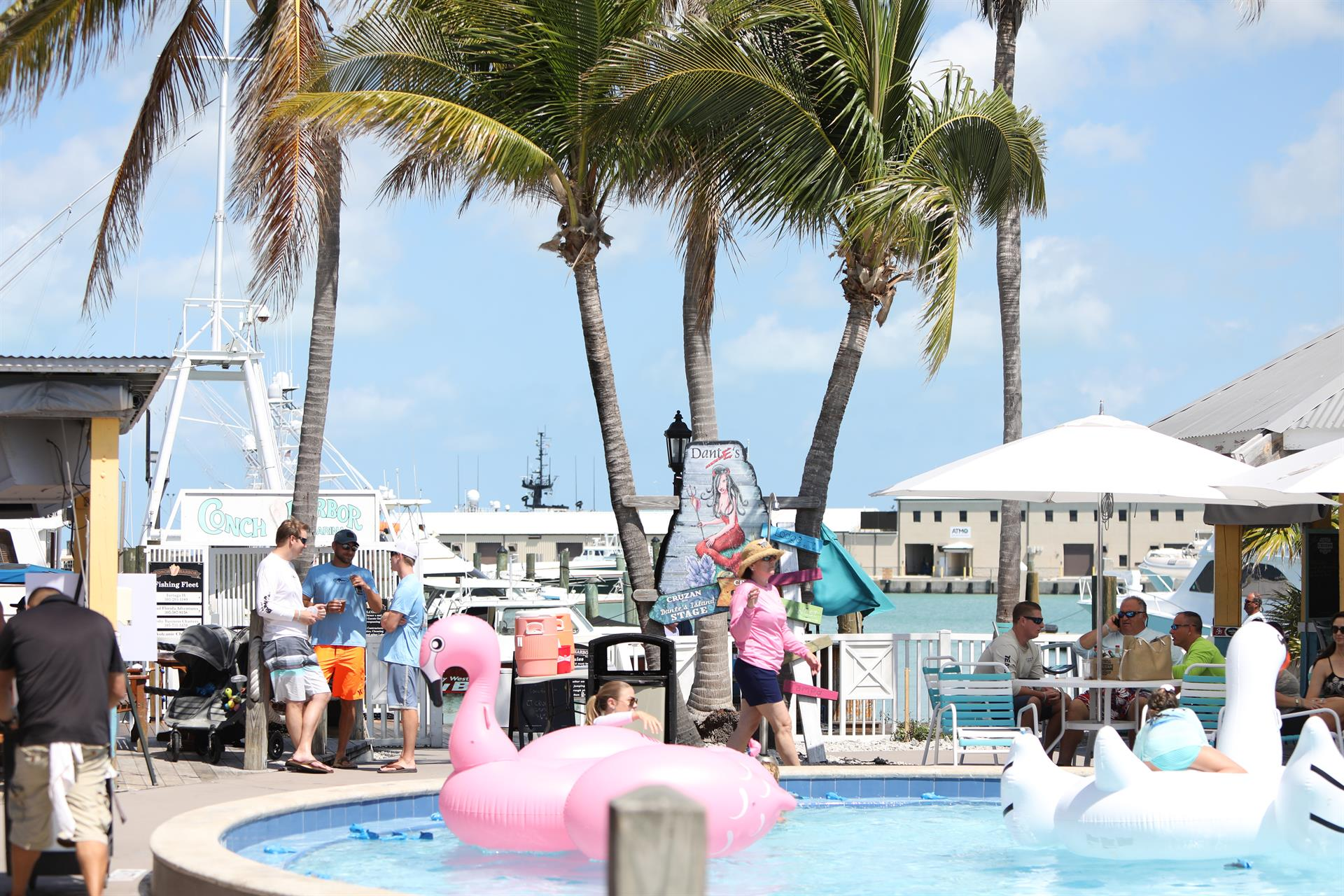 Key West pool party
