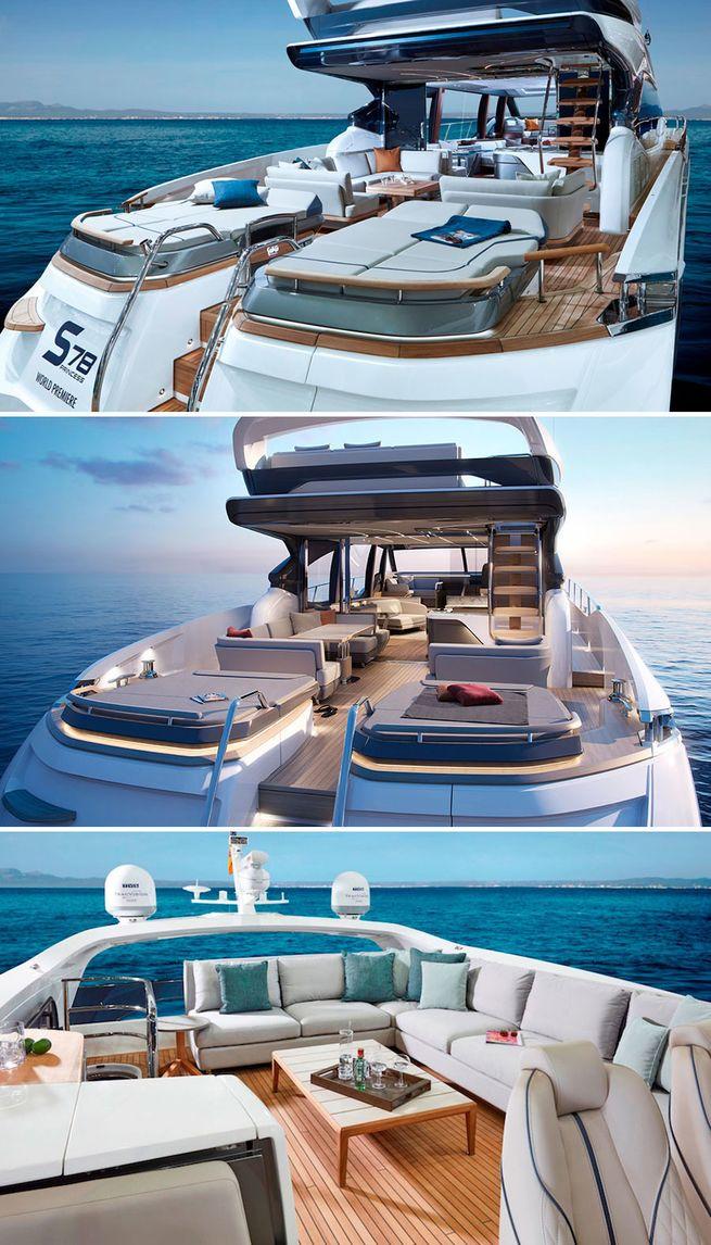 Princess S78 stern