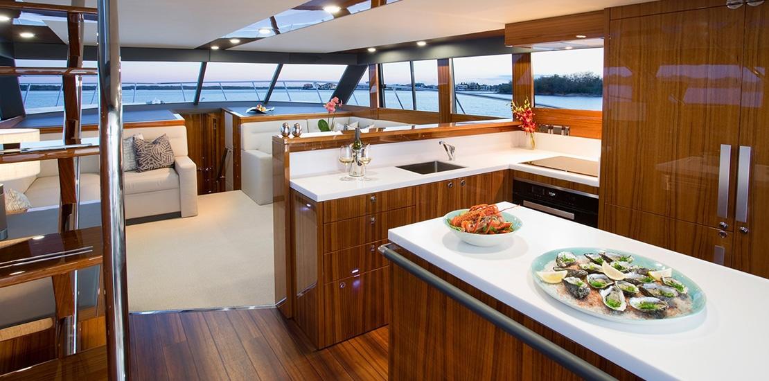 maritimo m59_0006_maritimo m59 yacht galleyjpg