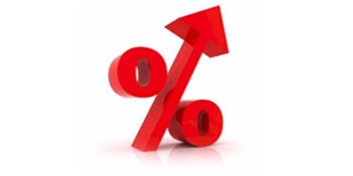 Percentage increase size yacht market