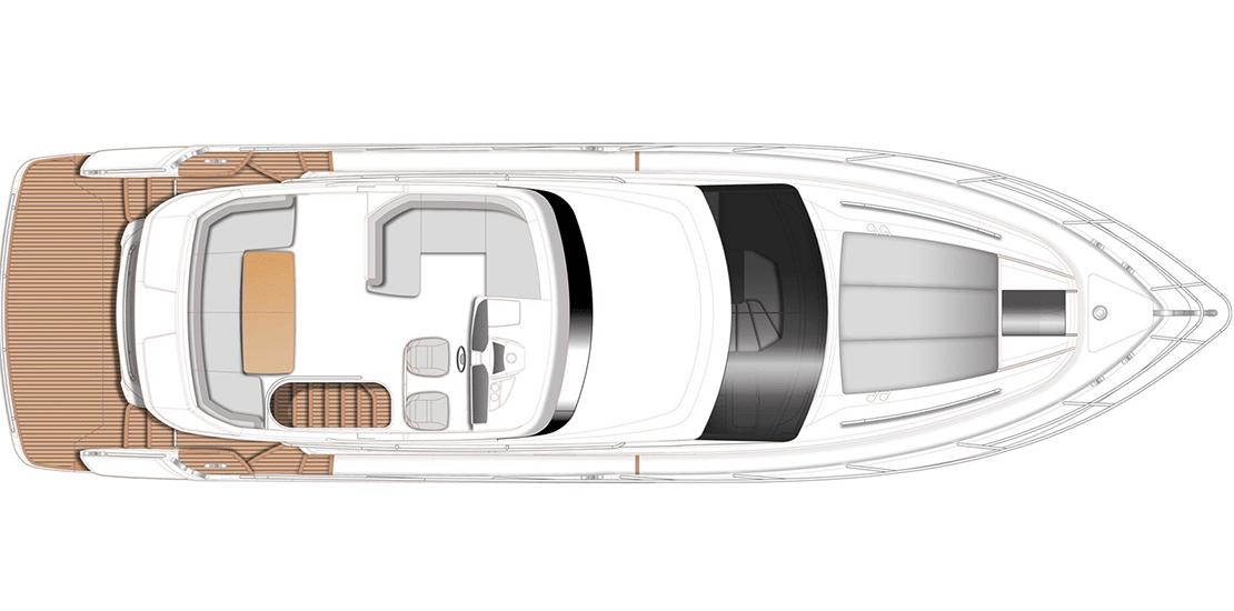 new princess 49fb_0003s_0006_new princess 49 flybridge yacht layout2