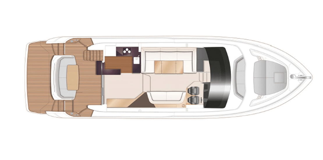 new princess 55fb_0002s_0002_princess 55 flybridge yacht main deck layout