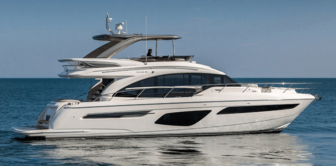 new princess 62fb_0001s_0007_new princess 62 flybridge yacht idle