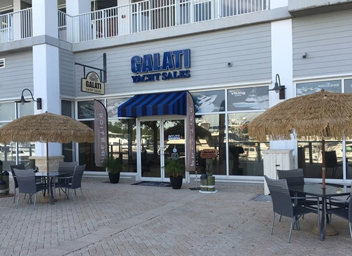 Galati Yacht Sales Orange Beach location