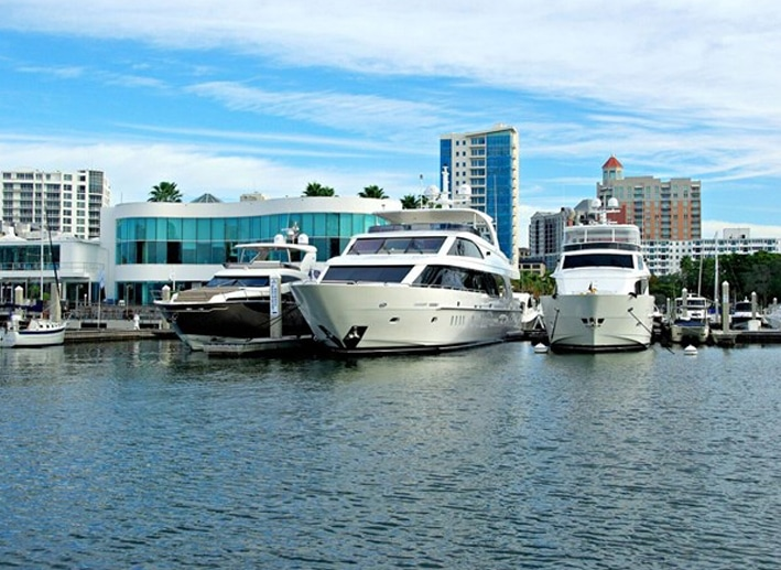 Galati Yacht Sales Sarasota location view