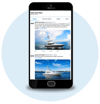 selling your yacht with social media