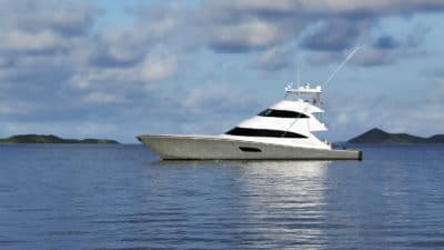 New Viking 92 Skybridge Yacht