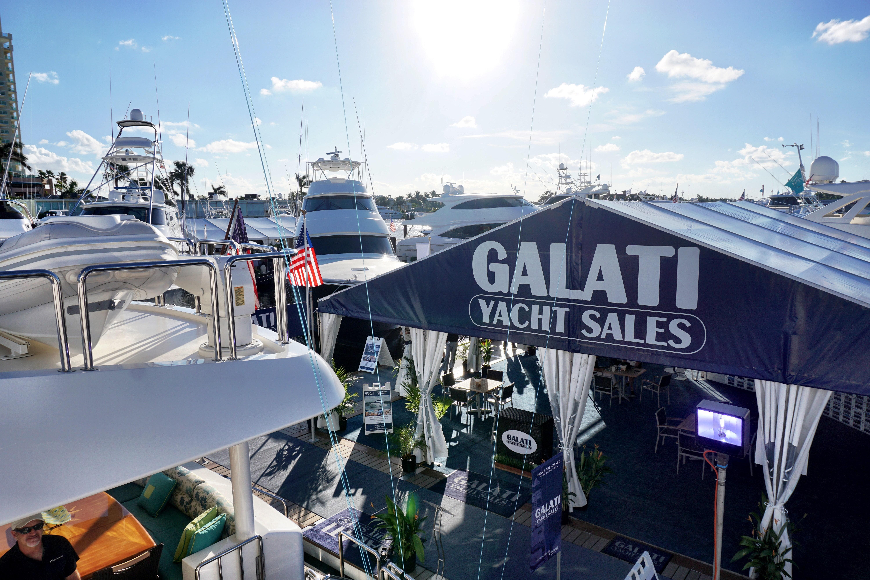 Galati Yacht Sales Tent