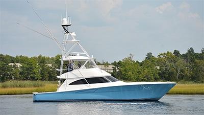 New Viking 58 Convertible Yacht