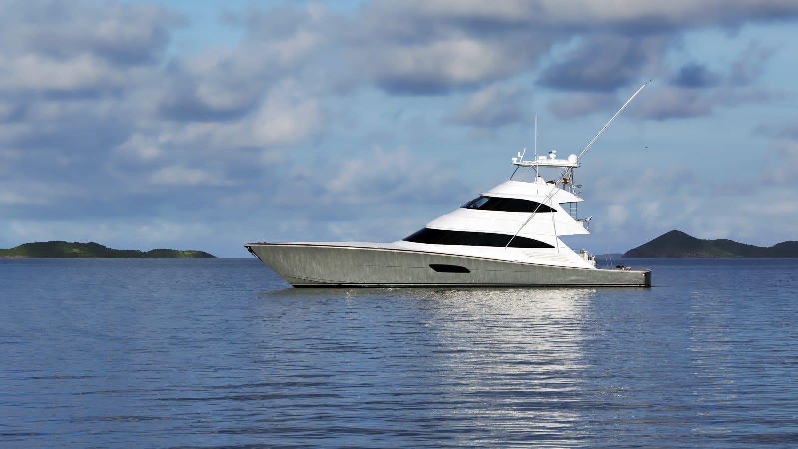 New Viking Yachts 92 Skybridge Yacht