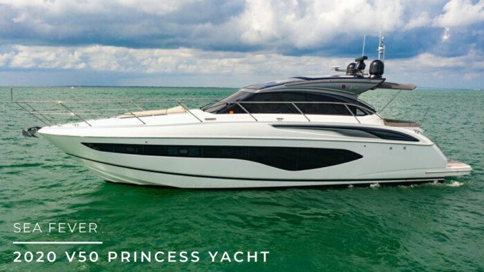 2020 v50 princess yacht Sea Fever