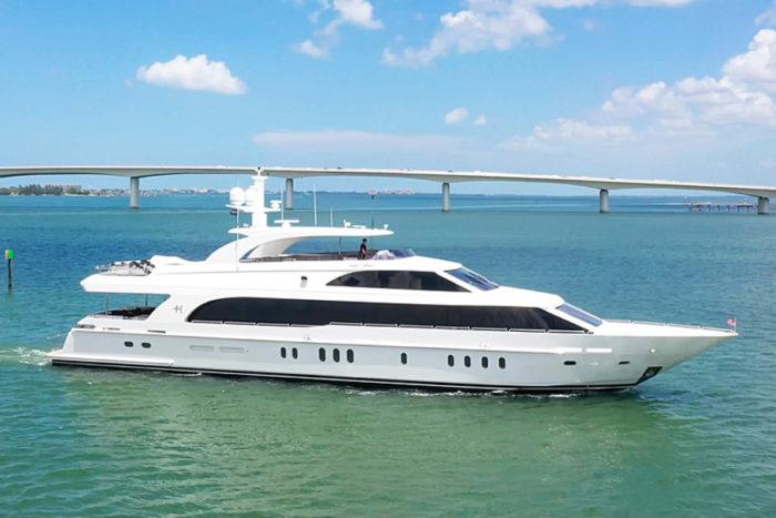 Team Galati 125' Hargrave Custom Yacht