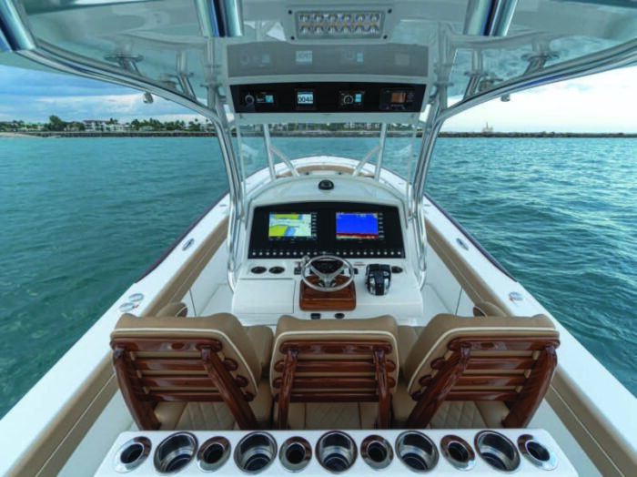 valhalla boatworks center console helm