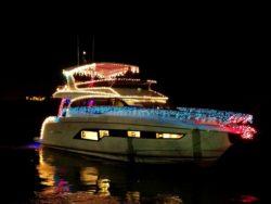 Galati Yachts holiday boat parade