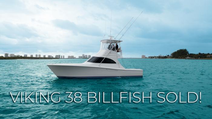 38 billfish sold