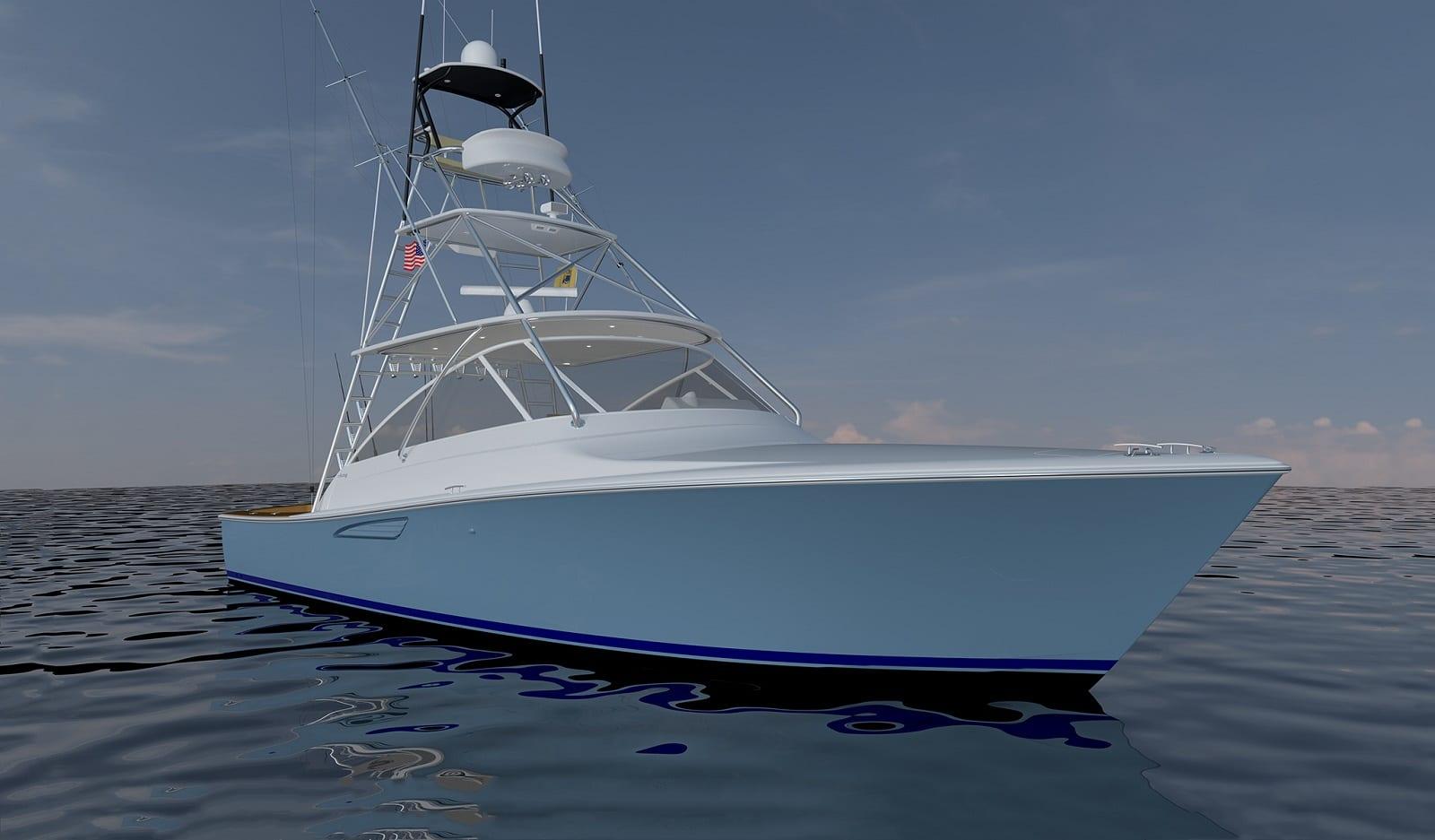 New Viking Yachts 38 Open  Yacht