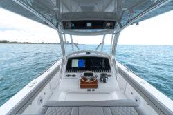 33 Valhalla Boatworks Center Console helm