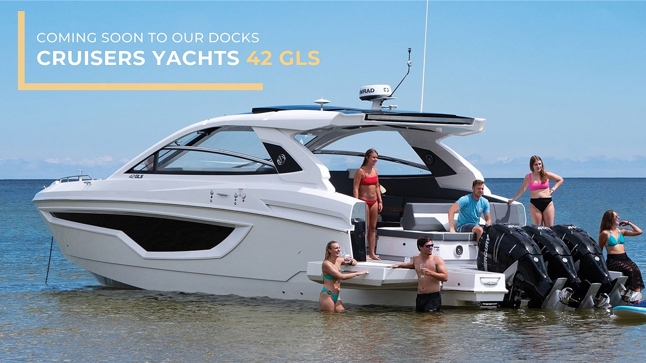 Coming Soon To Our Docks: Cruisers Yachts 42 GLS