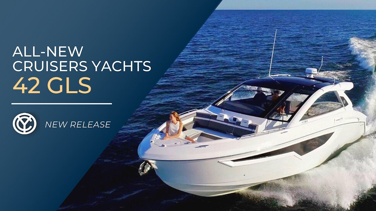 all-new Cruisers Yachts 42 GLS Outboard