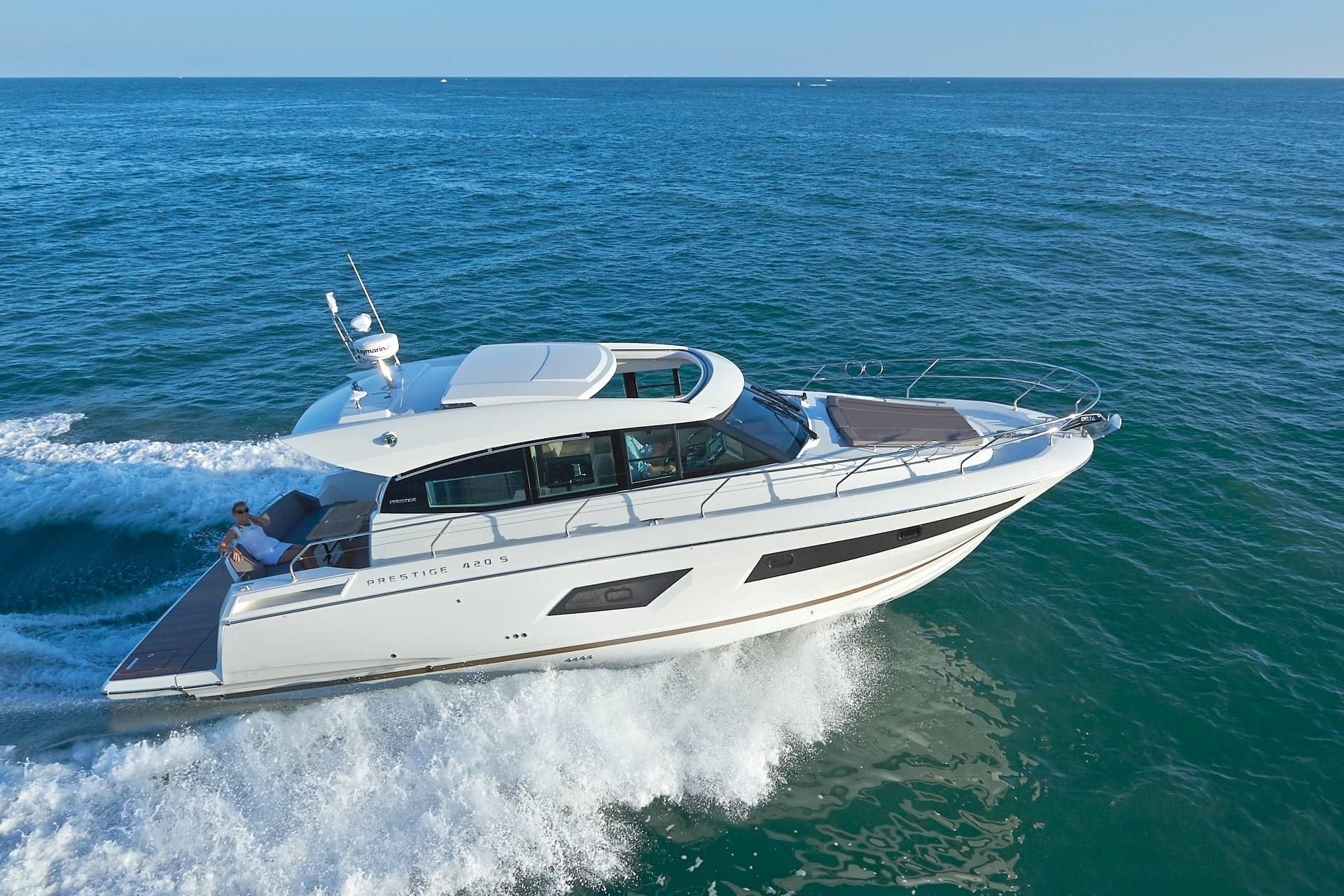 New Prestige 420S Yacht