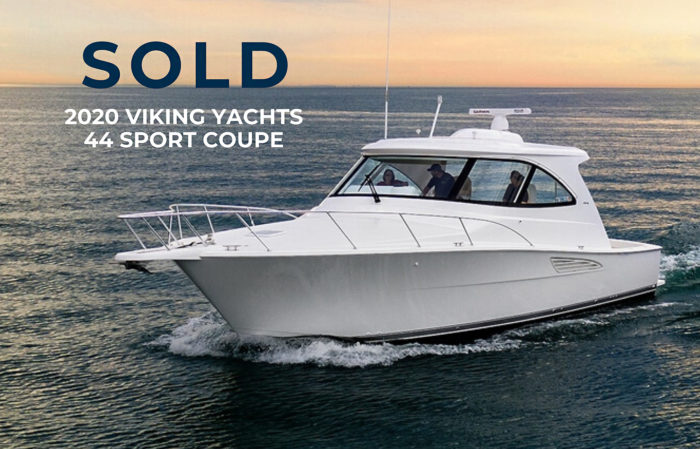 Sold 2020 44 Viking Yacht sport coupe