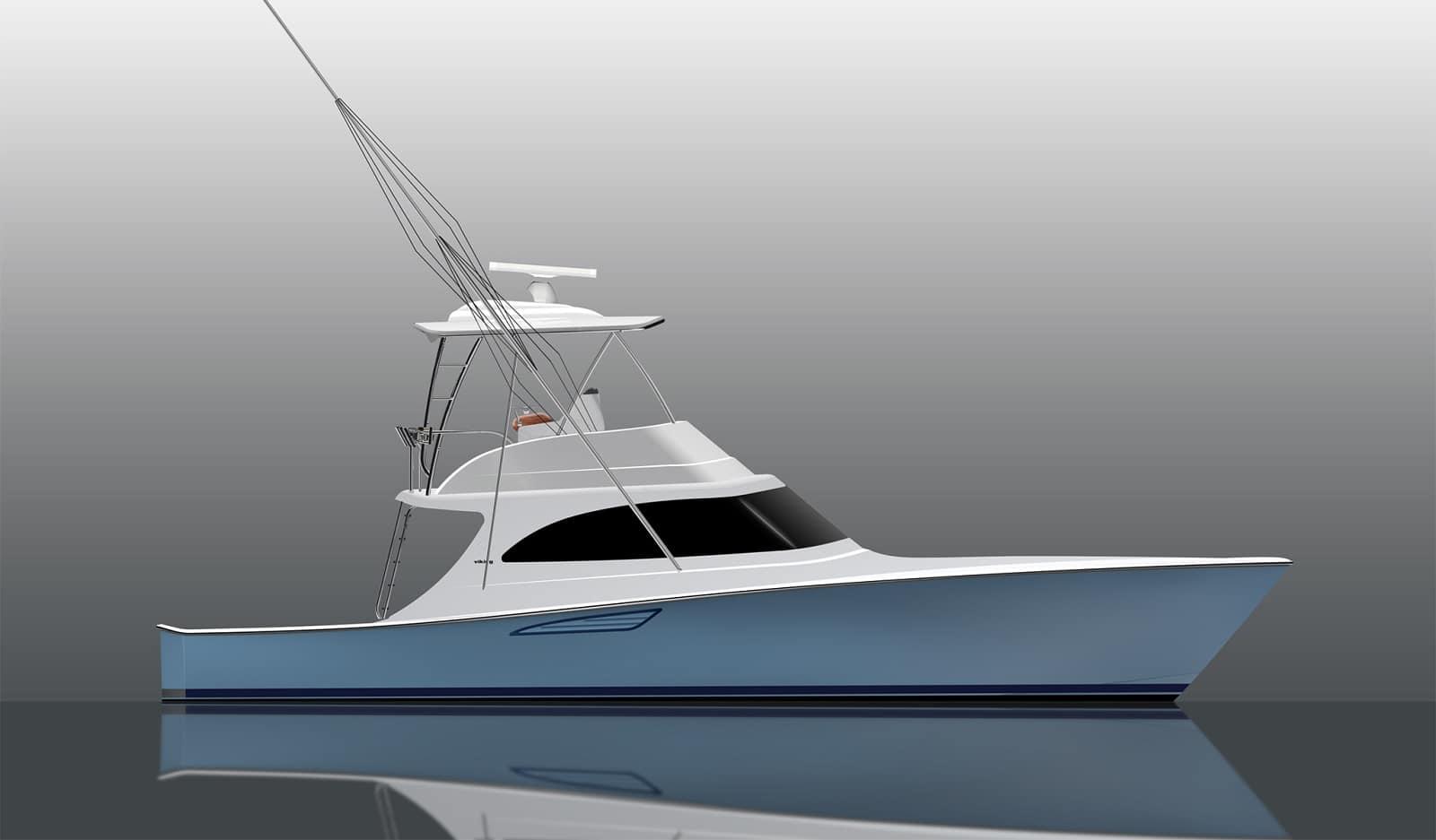 New Viking Yachts 46 Billfish Yacht