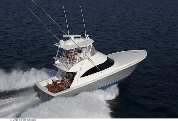New Viking Yachts 48 Convertible Yacht