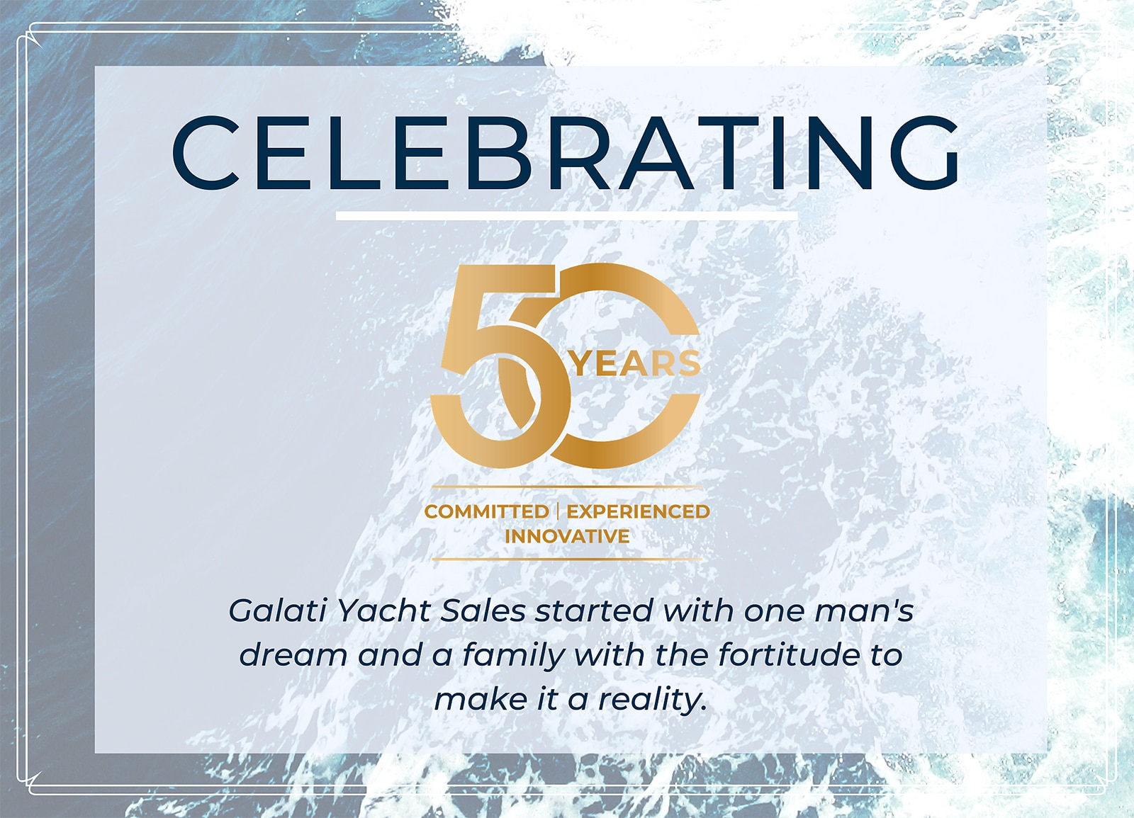 The Galati Legacy- 50 year anniversary