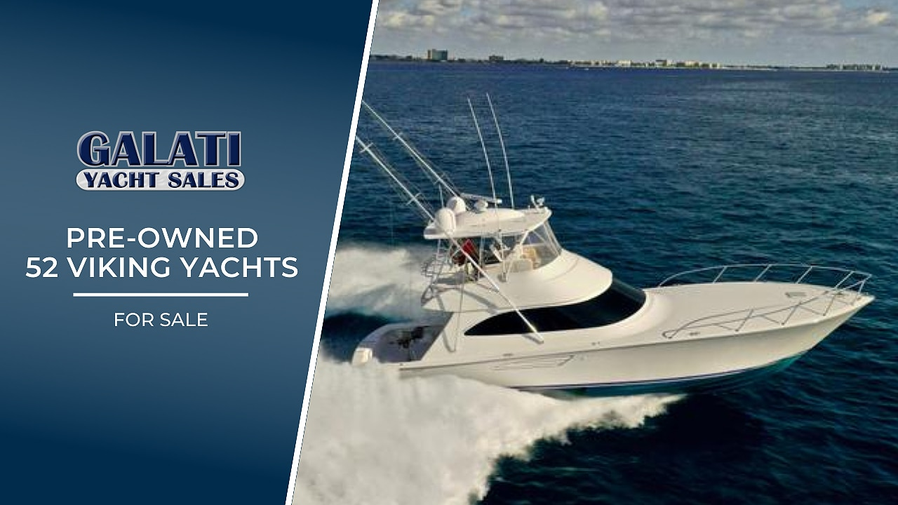 Pre-owned 52 Viking Yachts for sale