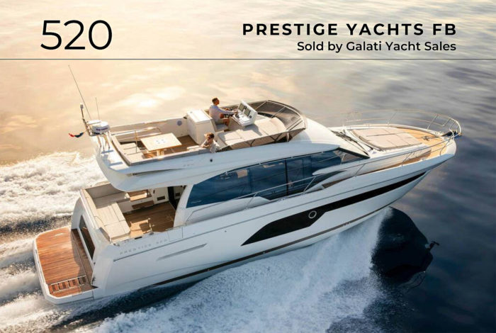 520 Prestige Yachts FB sold report