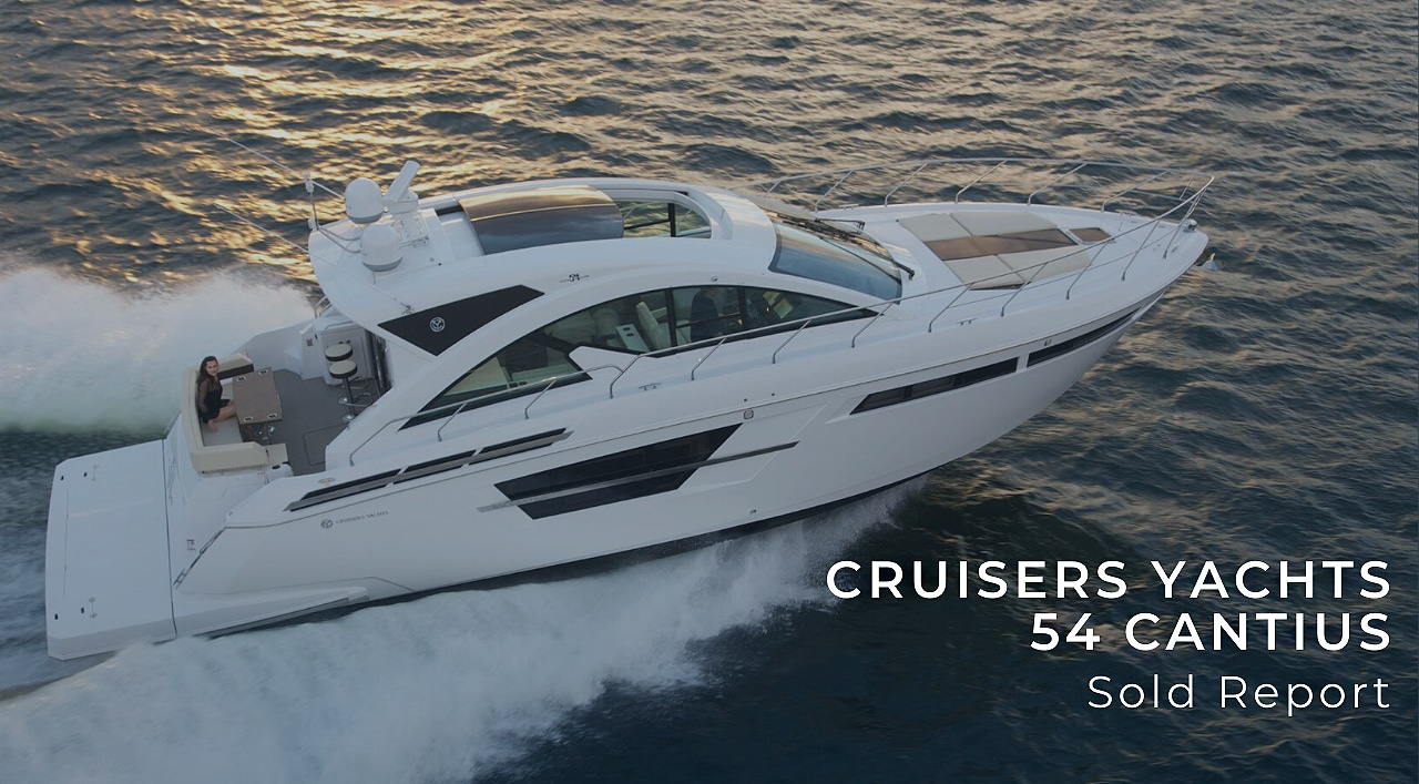 sold cruisers yachts 54 cantius