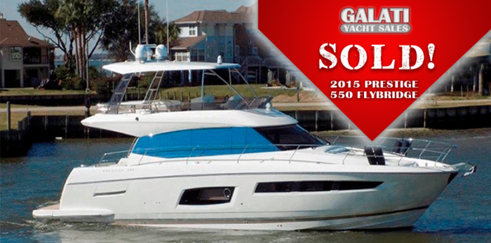Sold Listing: 550 Prestige Flybridge