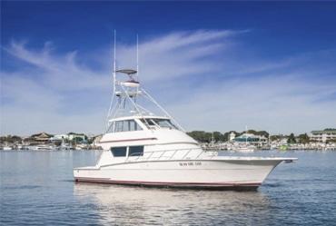 New 1990 HATTERAS 58 SPORTFISH Yacht