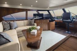 2015 Viking Yachts 92 Enclosed Bridge