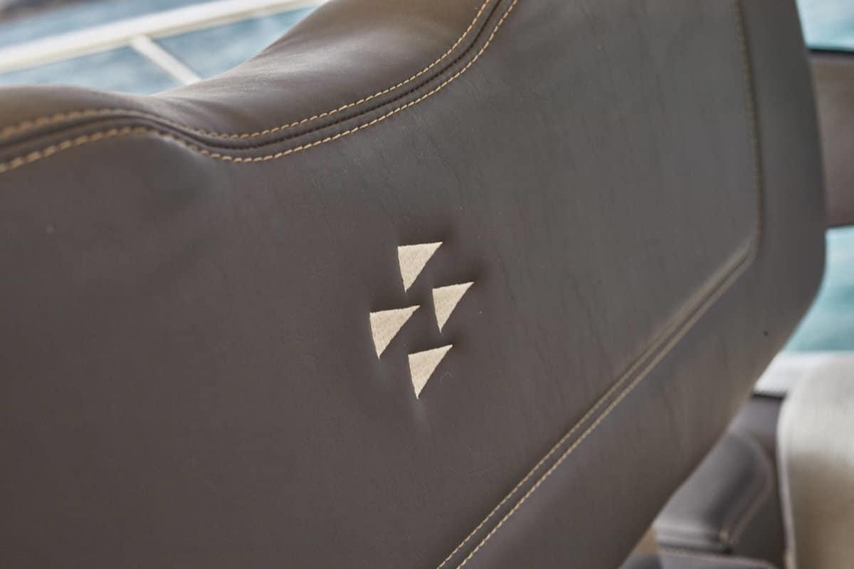 Prestige 590 detail leather