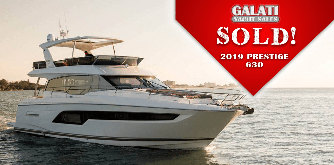 Prestige 630 sold by Galati Broker Jason L