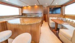 """""""miss behaving"""" Viking Yacht 60C"""