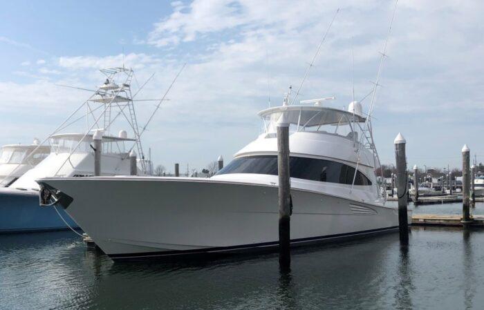 Pre-owned 2020 Viking Yachts 72 C AEI