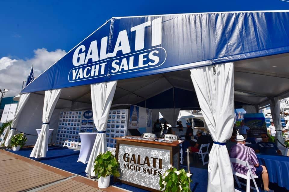 Galati display at boat shows