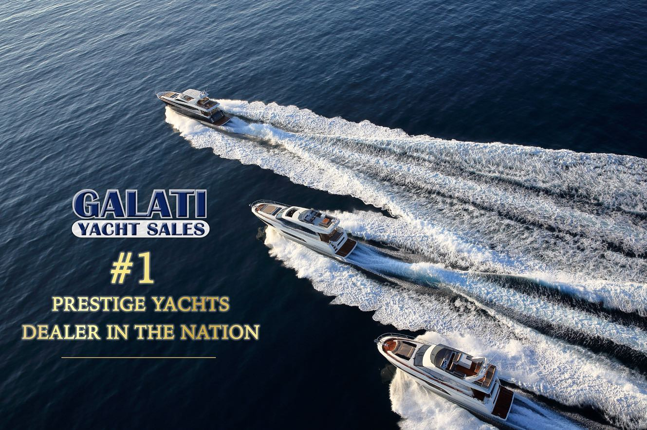 Galati Yachts Awarded Top Dealer for Prestige Yachts