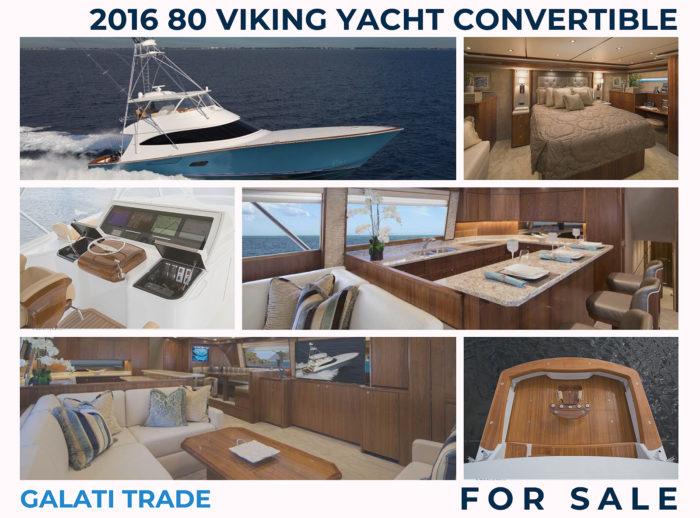2016 80 Viking Yacht