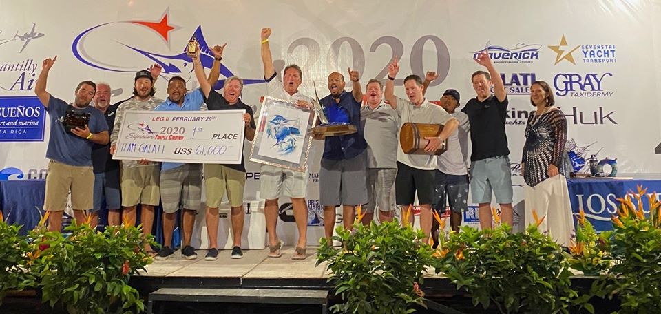 2020 signature triple crown leg two winners, Team Galati