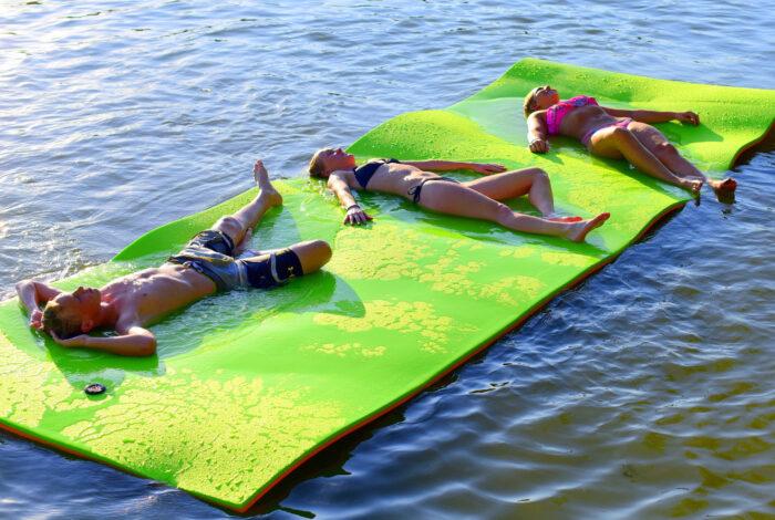 rubber dockie floating mat
