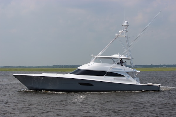New Viking Yachts 92 Convertible Yacht