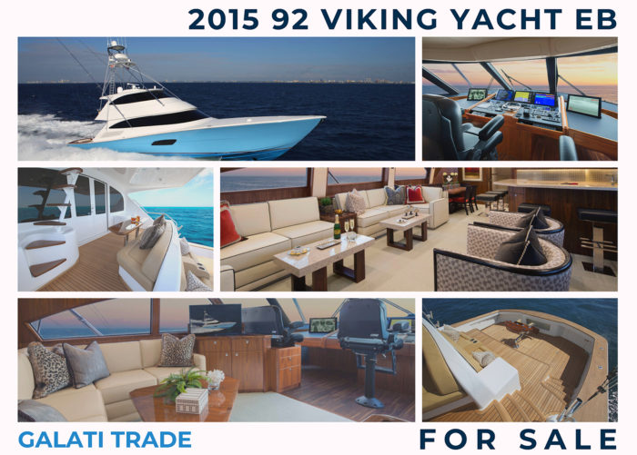 2015 92 Viking EB | Top Yacht to see at the Miami Yacht Show