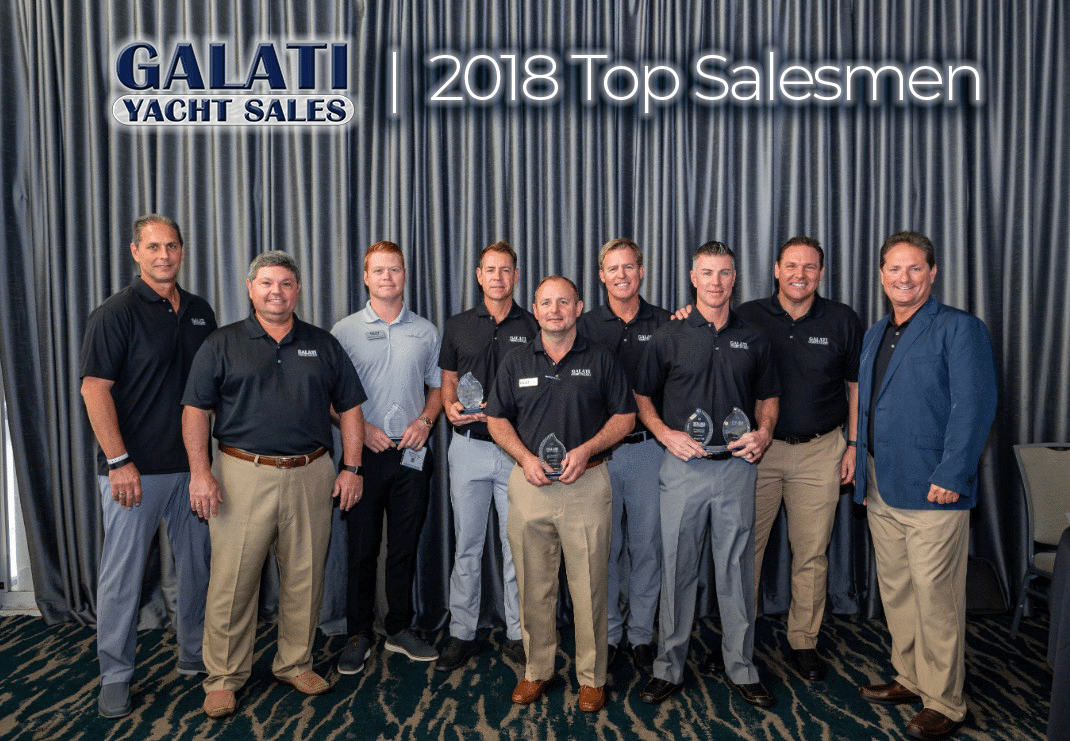 Galati Yacht Sales 2018 Top Salesmen