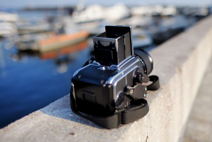 camera on dock
