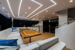 Hargrave Yachts G120 Aft Deck Dining